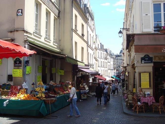 La rue Mouffetard | © LPLT/WikiCommons