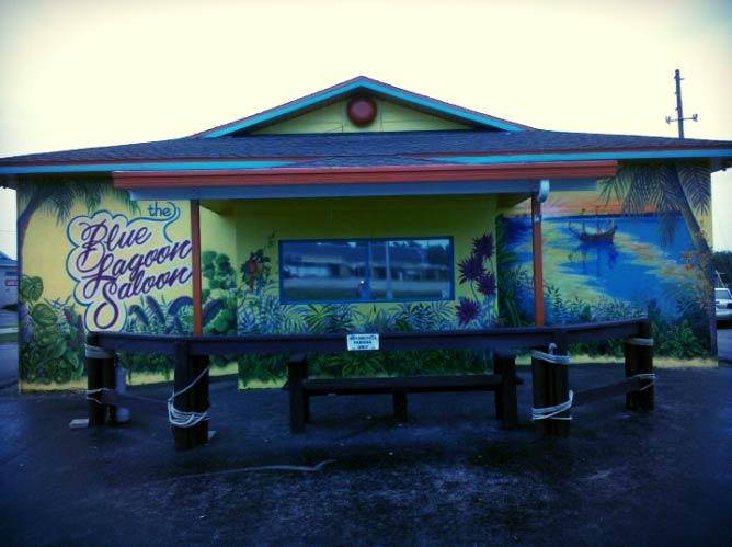 Blue Lagoon Saloon, Courtesy of Blue Lagoos Saloon