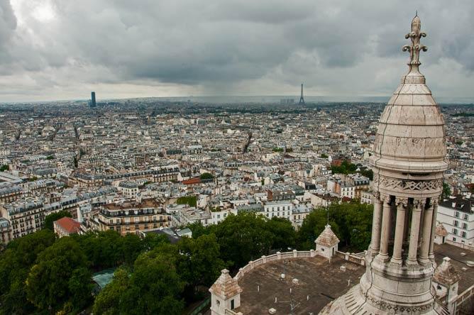 View of Paris from the Sacré-Cœur | © bvi4092/Flickr