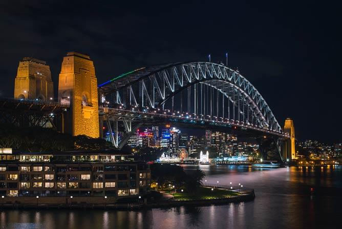 Sydney at night | © Nigel Howe/Flickr