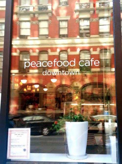 Peacefood Café | Image Courtesy of Peacefood Café
