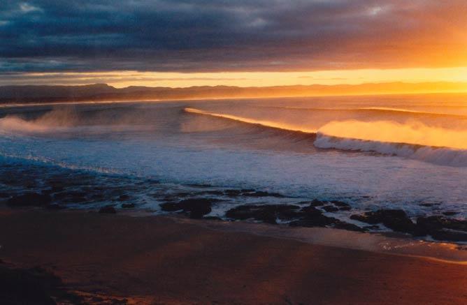 Sunrise at Jeffreys Bay