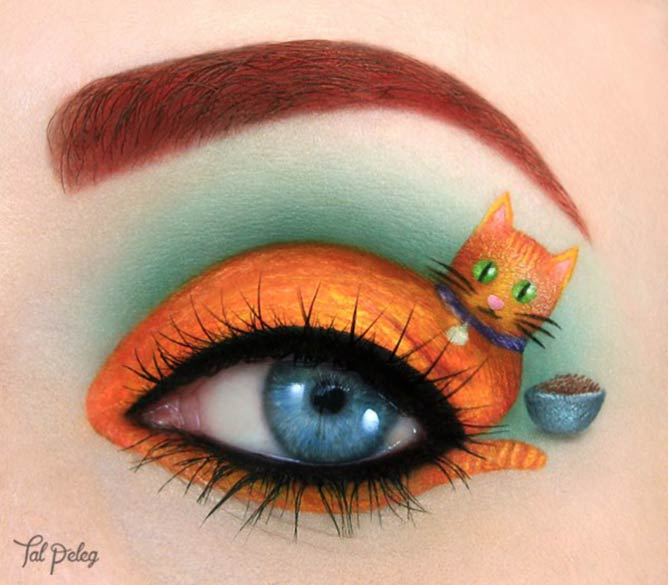 Ginger is the new black. Dedicated to my own cat-friend, Neo © Tal Peleg