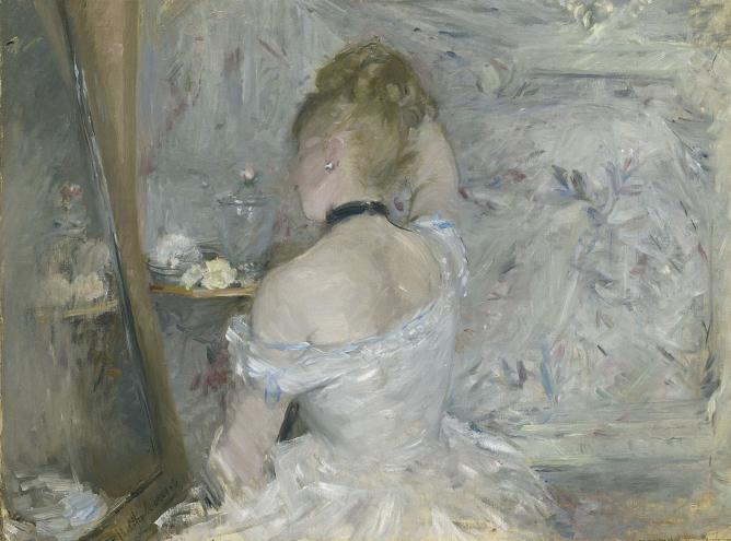 Berthe Morisot Woman at Her Toilette, 1875-80 © The Art Institute of Chicago, Illinois