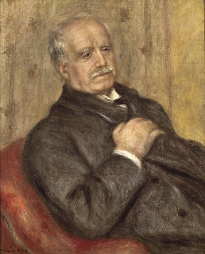 Pierre-Auguste Renoir Paul Durand-Ruel, 1910 Private collection Archives Durand-Ruel © Durand-Ruel & Cie.