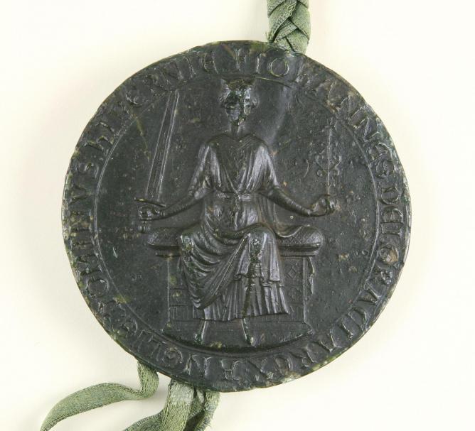 Great Seal of King John, 1203
