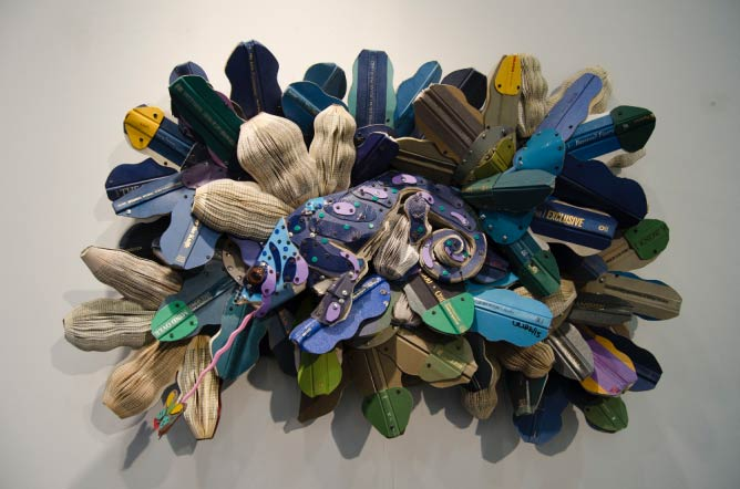Federico Uribe at Adelson Galleries © Kseniya Baranova