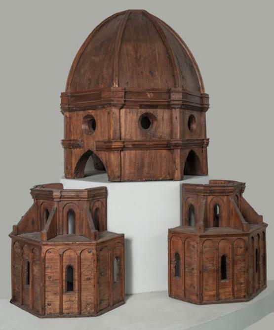 Brunelleschi, wood models of dome| © Museum of Biblical Art