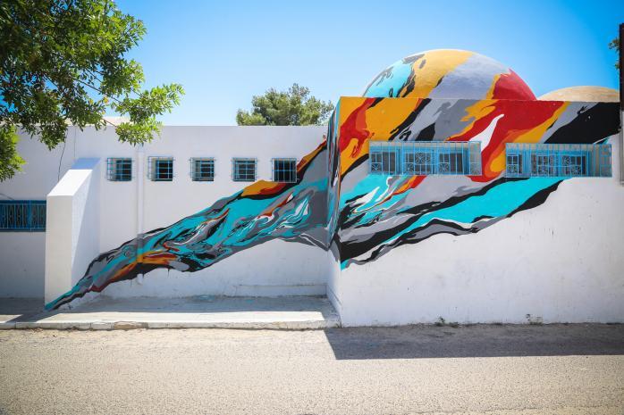 Djerbahood © Galerie Itinerrance / Aline Deschamps