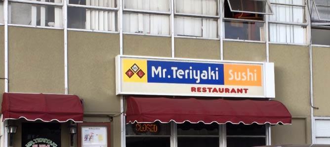 Mr. Teriyaki