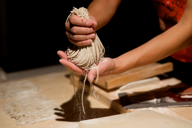 Handmade Soba Noodles | © Jun Selta/Flickr
