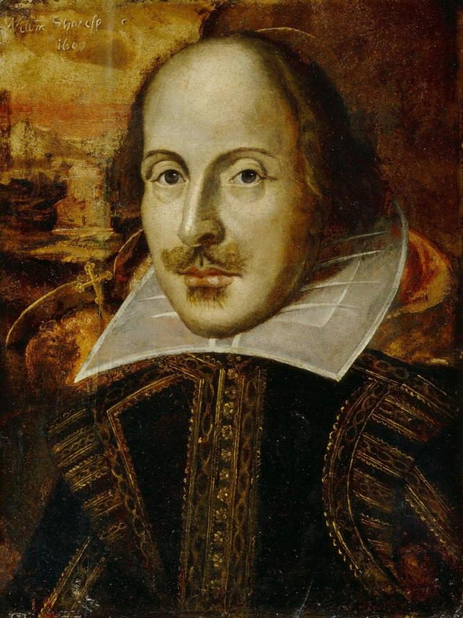 Flower Portrait of Shakespeare © Wikicommons