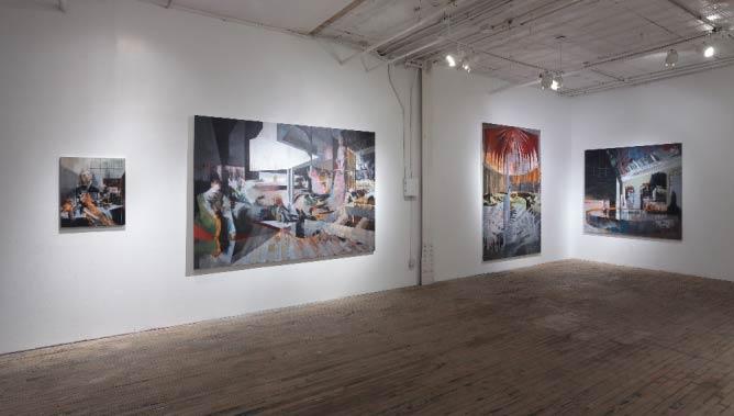 Tim Kent, Installation View, 2015 | Courtesy of Slag Gallery