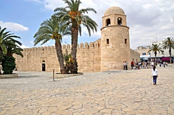 La mosquée de Sousse