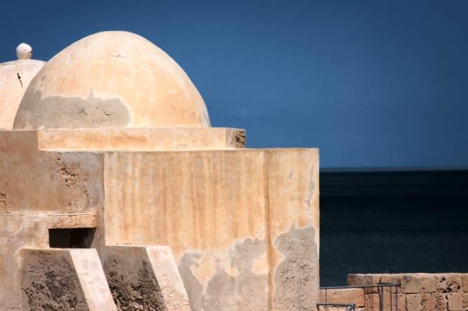La forteresse espagnole de Houmt-Souk