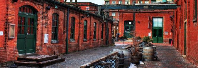 Distillery District, Toronto | © Ryan/Flickr