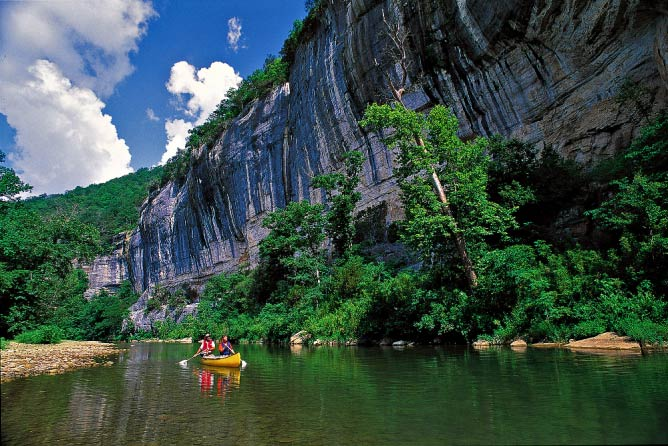 Buffalo National River | Courtesy Arkansas Department of Parks and Tourism