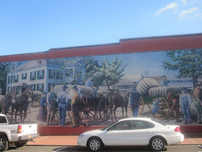 Pioneer mural in downtown Magnolia | © Billy Hathorn/WikiCommons