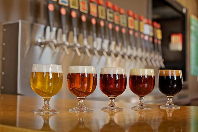 Great Divide Beer Rainbow | Courtesy of Great Divide Brewing Company
