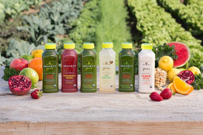 Project Juice Juices | © Project Juice