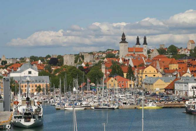 Visby from the sea | © www.gotland.com