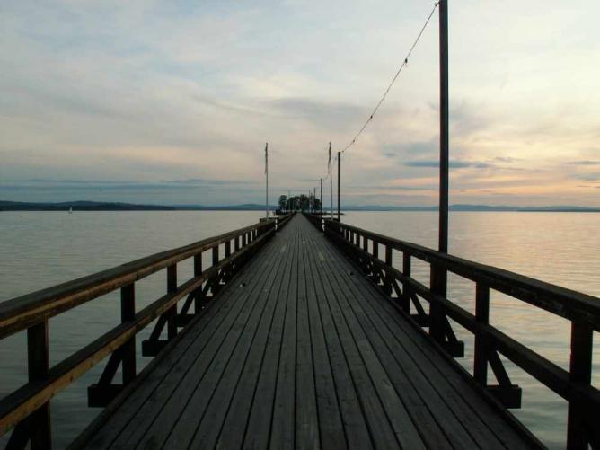 Långbryggan pier, Rättvik | © Hardo Müller/Flickr