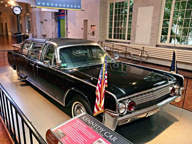 Presidential Limousine of Kennedy