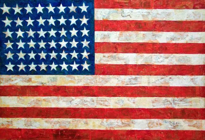 'Flag' (1954-55) by Jasper Johns | © Diego López Román/Flickr