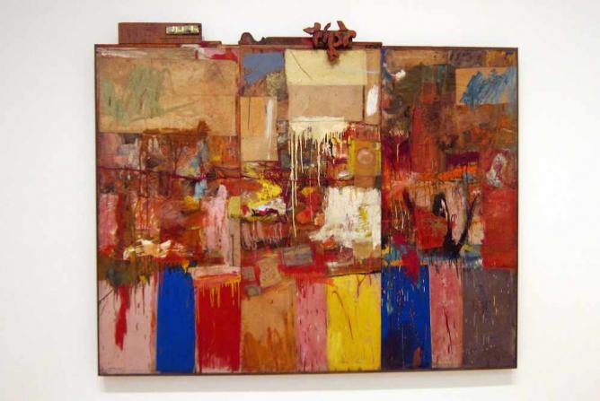 'Collection' (formerly Untitled) (1954) by Robert Rauschenberg | © Wally Gobetz/Flickr