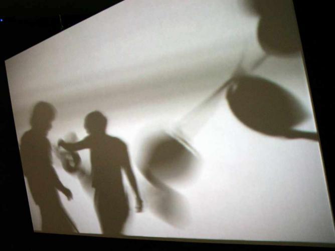 Image from Joan Jonas' 'Reading Dante III' at the Yvon Lambert Gallery | © n e o g e j o/Flickr