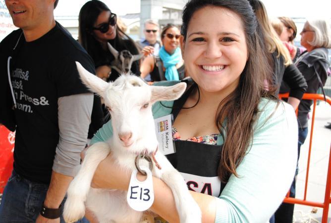 Goat Festival: Credit CUESA