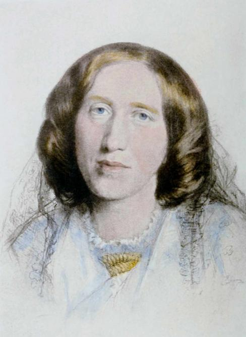 Portrait of George Eliot by Frederick William Burton, 1864 | Public domain/WikiCommons