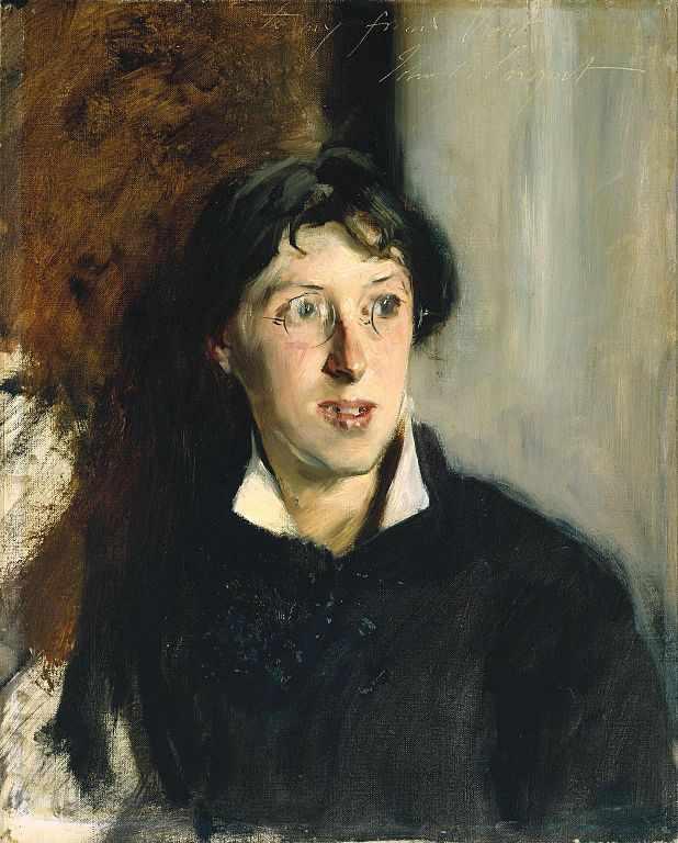 Portrait of Vernon Lee by John Singer Sargent, 1881 | Public domain/WikiCommons