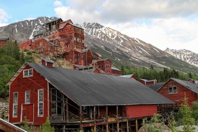 Kennecott Machine Shop and Mill Building | © Matthew Yarbrough/National Park Service