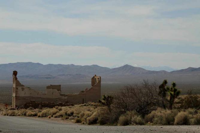 Rhyolite, Nevada | © Gabriel Millos/Flickr