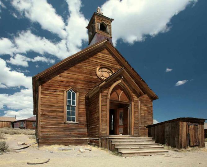 The Methodist Church, Bodie, California | © Thomas.fanghaenel/WikiCommons
