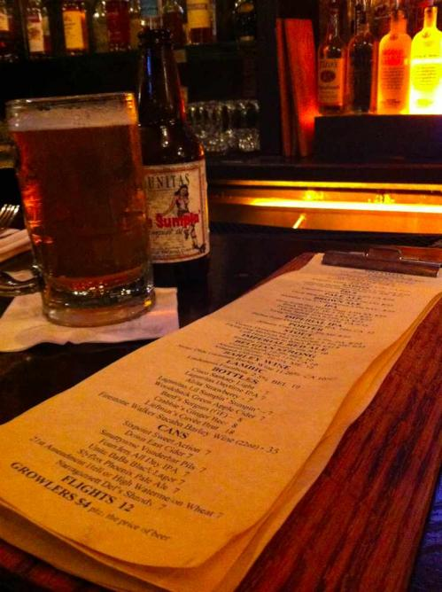 Beer List at Tavern 29 | © Caitrin Sneed