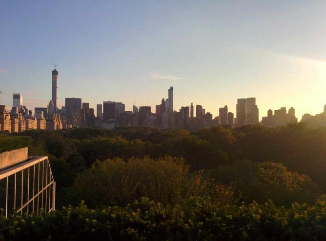Central Park from the Met's Rooftop | ©By MusikAnimal (Own work) via Wikimedia Commons