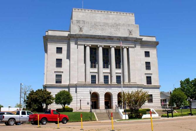 The Texarkana U.S. Post Office and Courthouse | © Renelibrary/WikiCommons
