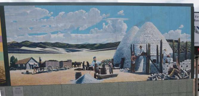 Ward Charcoal Ovens mural by Chris Krieder | © Jay Galvin/Flickr