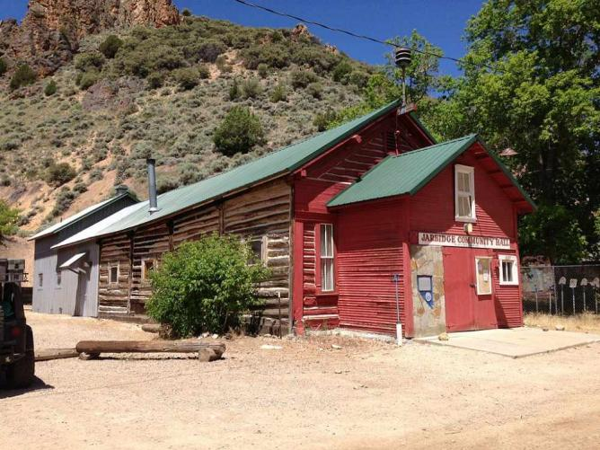 Jarbidge Community Hall | © Famartin/WikiCommons