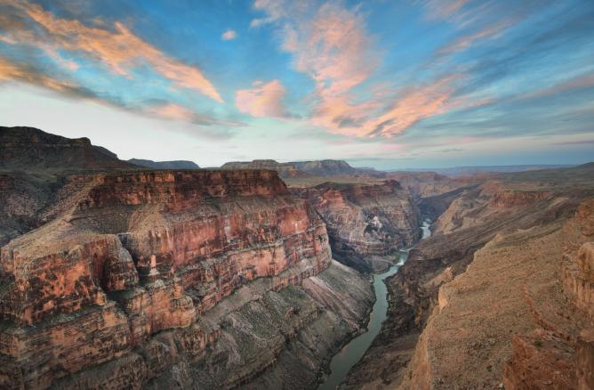 Toroweap Sunrise at the North Rim of the Grand Canyon | © John Fowler/Flickr
