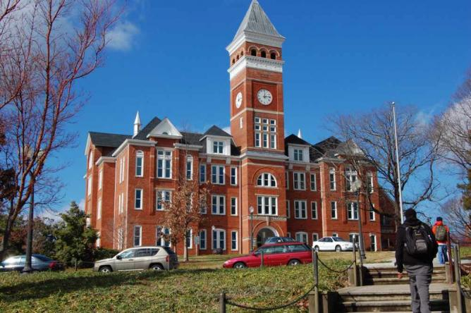 Tillman Hall, Clemson University | © Spyder_Monkey/WikimediaCommons