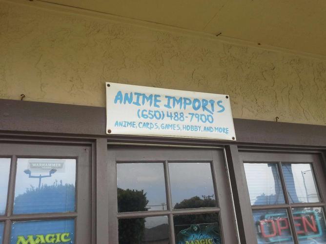 Anime Imports