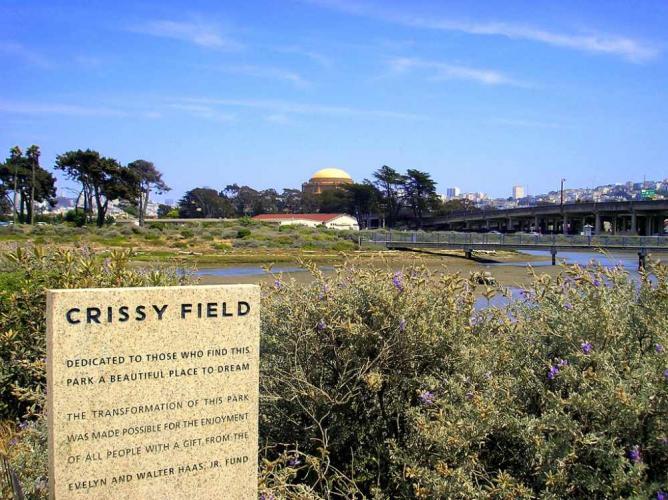 Crissy Field: © Kunal Mukherjee/Flickr