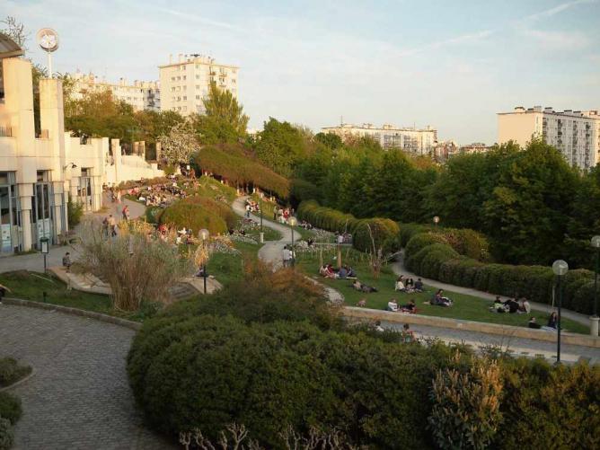 Parc de Belleville | © Juozas Šalna / Wiki Commons