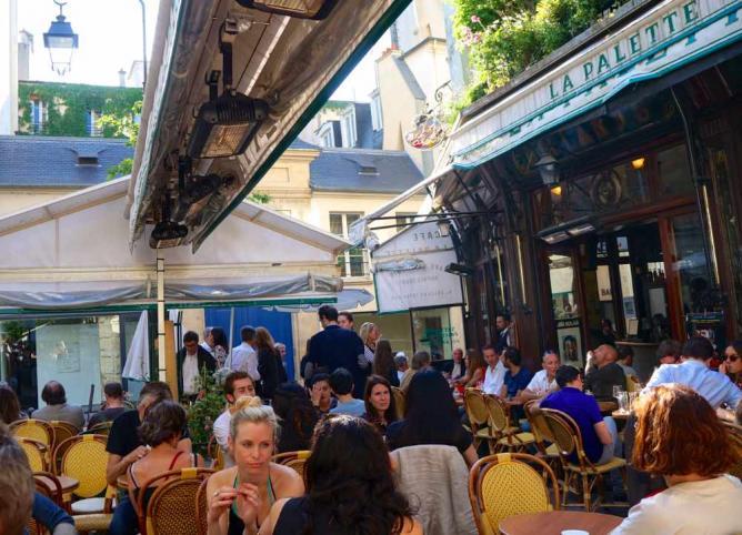 La Palette, Saint-Germain-des-Près | © Stephanie Carwin