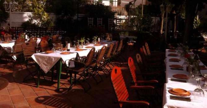 The 10 best restaurants in granada spain - Los jardines de zoraya ...