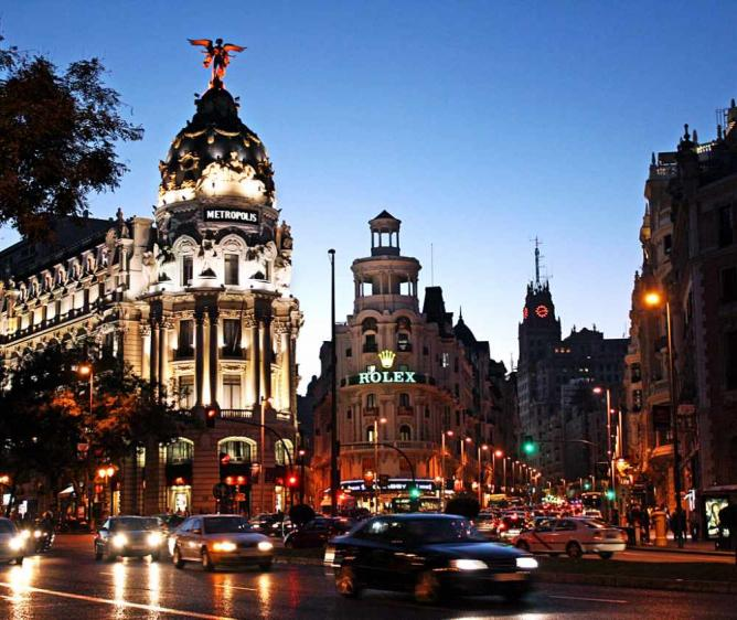 Gran Via | © DimitryB/Flickr