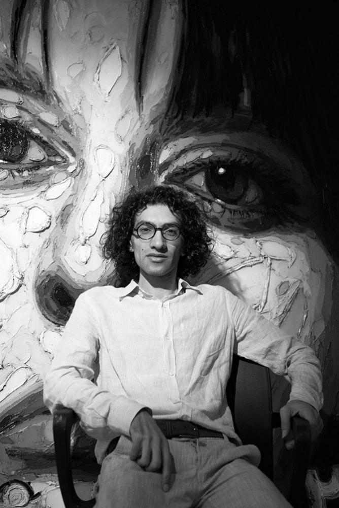 The artist Babak Roshaninejad | © Babak Roshaninejad